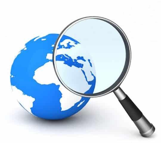 recherche sur le web en 2010 au Québec