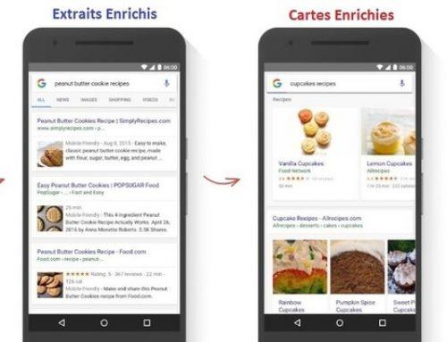 Ajout de services pour les cartes enrichies de Google