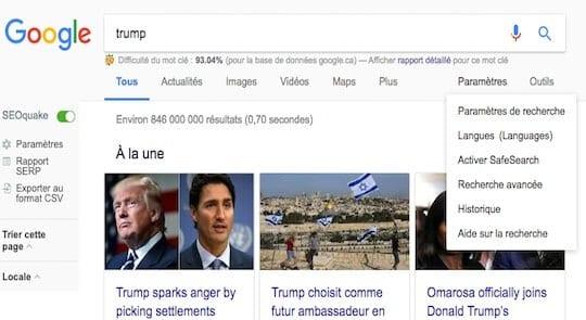 Nouvelle-interface-resultats-Google-paramètres de recherche