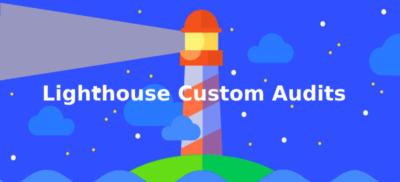 google-lighthouse pour contrôler la vitesse de chargement d'une-page web