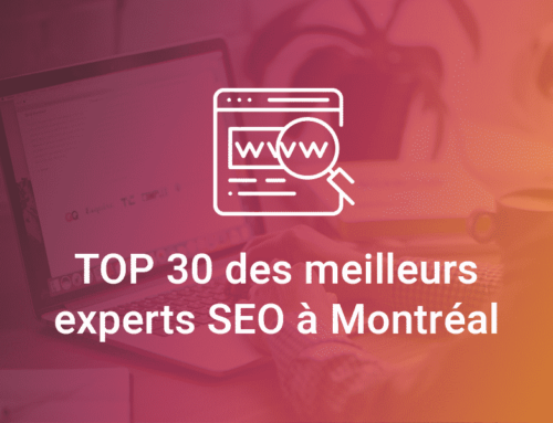 Le top 30 des meilleurs experts SEO de Montréal
