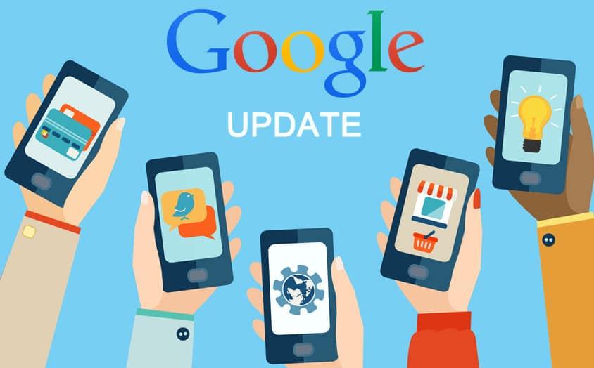 Mise à jour de google juillet 2019
