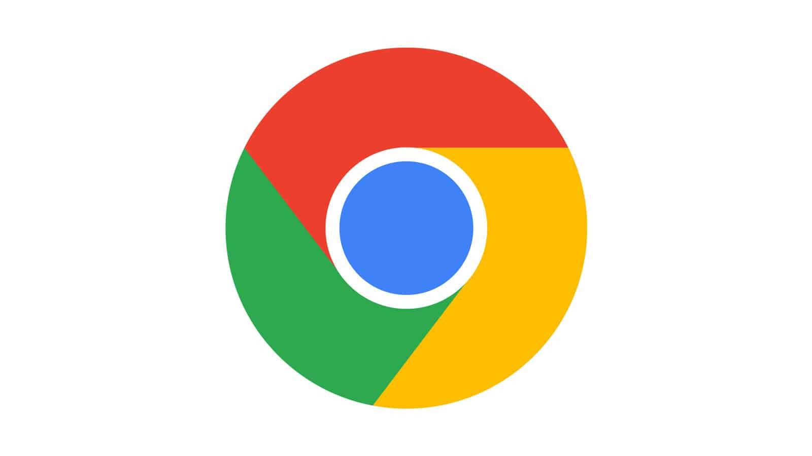 Le navigateur chrome affiche les résultats de recherche directement dans la barre d'adresse.