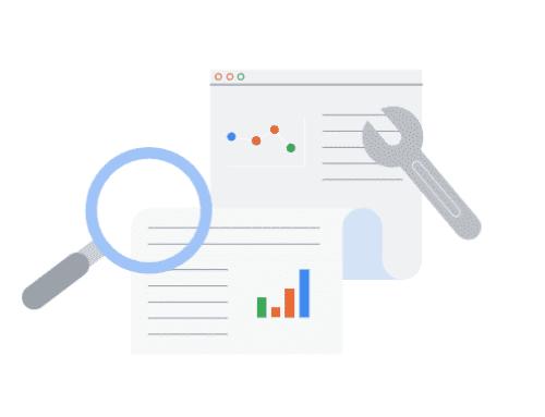 La Search Console offre l'association avec d'autres comptes Google