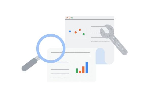 La Search Console offre l'association avec d'autres comptes et produits Google